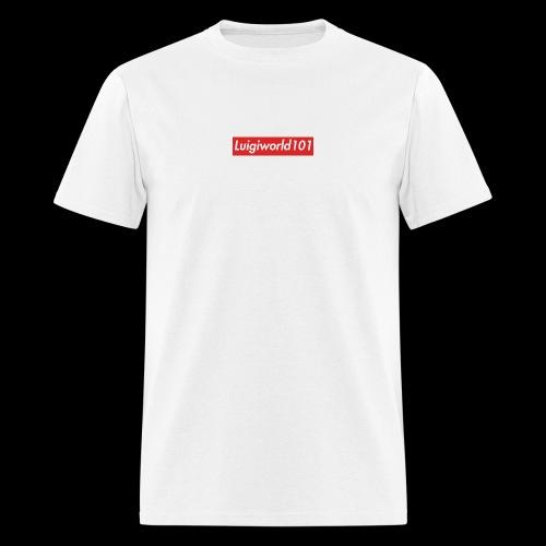 Lw1 box logo - Men's T-Shirt