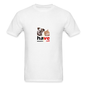 Dog & Cat - Men's T-Shirt