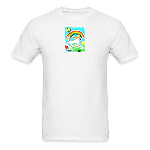 Unicorns are Magical Creatures The Make Electricit - Men's T-Shirt