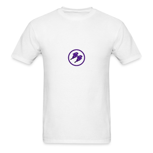 Simple Small Logo Design - Men's T-Shirt
