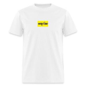 Soup Time Box Logo - Men's T-Shirt