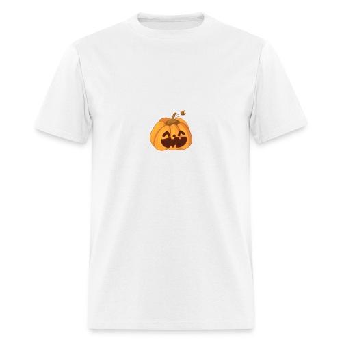 smiley pumpkin - Men's T-Shirt