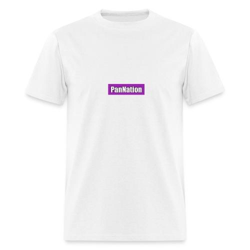 PanNation Box Logo - Men's T-Shirt