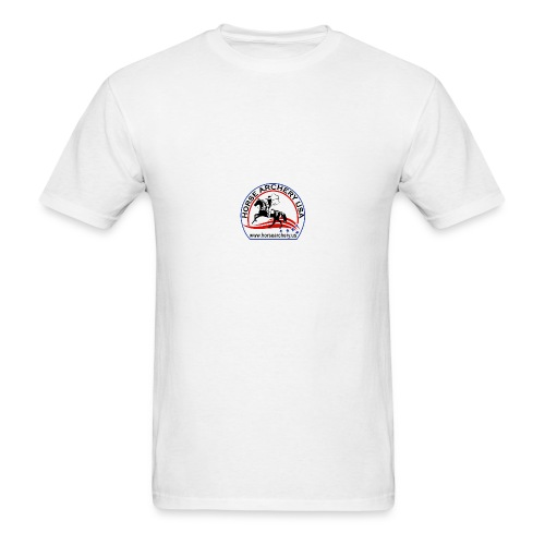 HAUSA GLOW LOGO - Men's T-Shirt