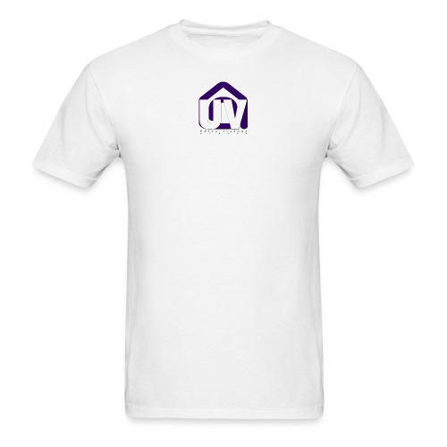 UV LOGO 2019 uv studio dark - Men's T-Shirt