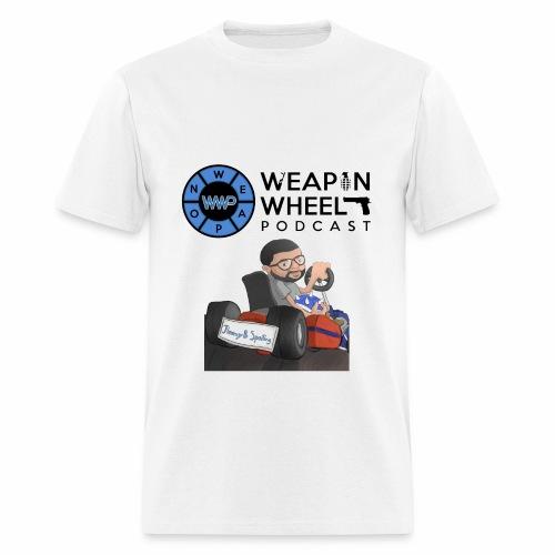 Weapon Wheel Podcast JayMegaGames T-Shirt - Men's T-Shirt