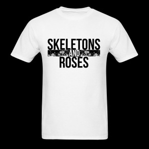 Skeletons And Roses Logo 2 - Men's T-Shirt