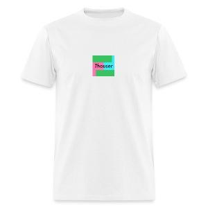 Thouser square logo - Men's T-Shirt