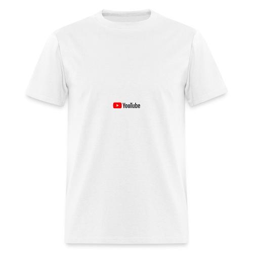 YouTube (White) - Men's T-Shirt