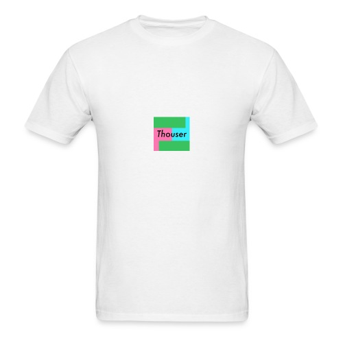 Thouser square logo - Men's T-Shirt