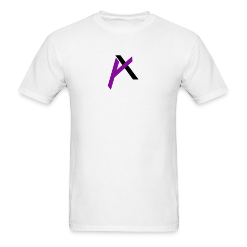 amaadilogo purple an black - Men's T-Shirt
