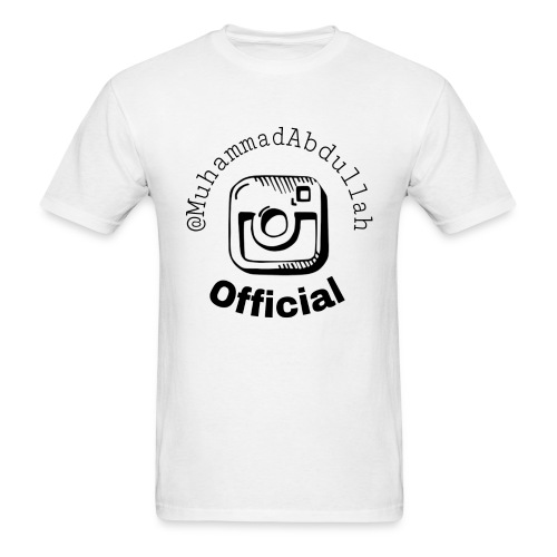 Instagram Logo Design - Men's T-Shirt