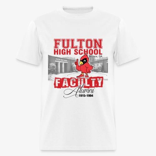 FHS Faculty Alumni _WHITE TEE ONLY - Men's T-Shirt