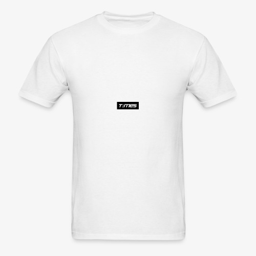 Times Supply - T-Shirt, White, Male - Men's T-Shirt