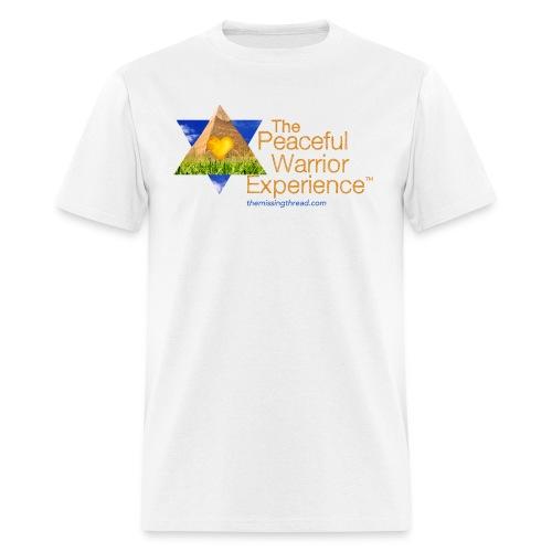 The Peaceful WarriorExperience t-shirt 2 - Men's T-Shirt