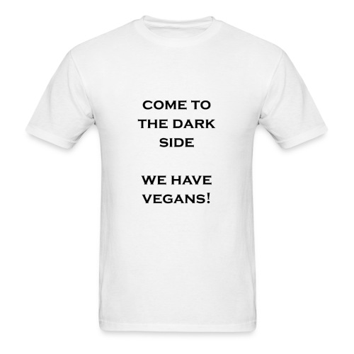 Dark Side Vegans - Men's T-Shirt