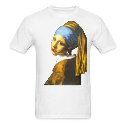 Girl with Pearl Earring - Men's T-Shirt