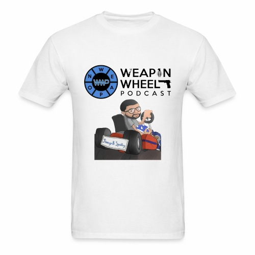 Weapon Wheel Podcast JayMegaGames T-Shirt - Men's T-Shirt