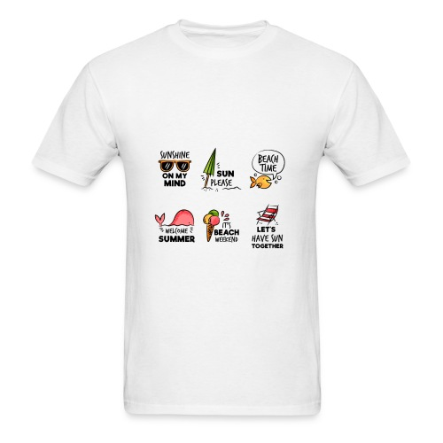 SUMMER HOLIDAY SHIRT - Men's T-Shirt