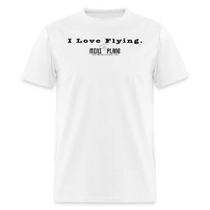 I Love Flying - Men's T-Shirt