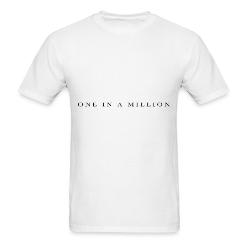 One in a Million - Men's T-Shirt