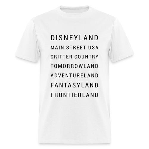 Minimalist Disneyland - Men's T-Shirt