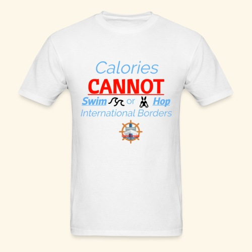 Cruise Ship Calories - Men's T-Shirt