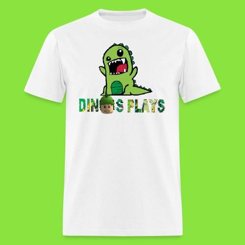 dinos plays - Men's T-Shirt