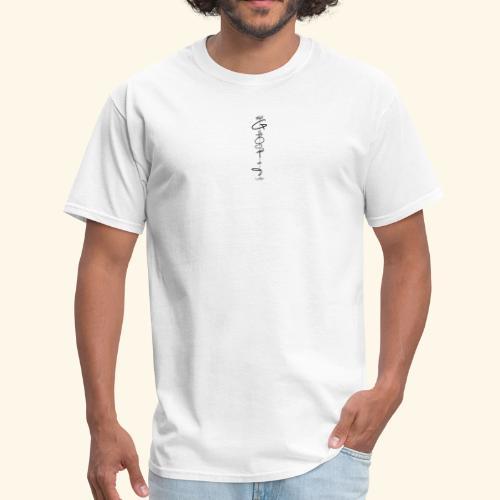 Downwards ghost - Men's T-Shirt