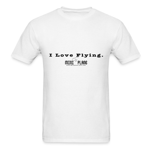 I Love Flying - Men's T-Shirt
