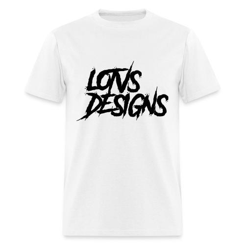 LOTVS DESIGNS - Black - Men's T-Shirt