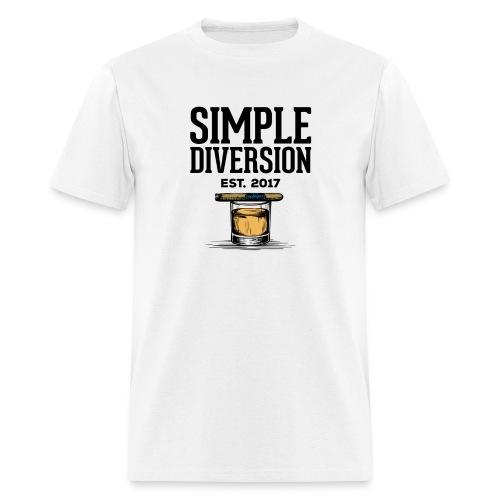 SD Text Logo - Men's T-Shirt
