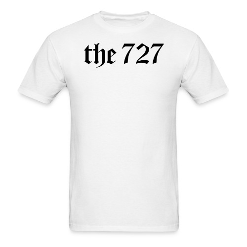 The 727 in Black Lettering - Men's T-Shirt