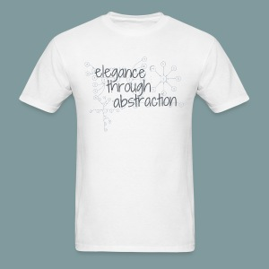 Elegance through Abstraction - Men's T-Shirt