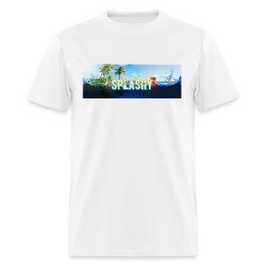 SPLASHY DROWNING OCEAN - Men's T-Shirt