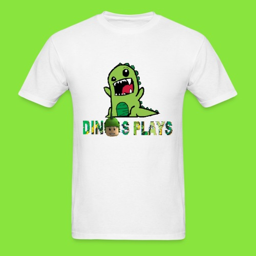 dinos plays - Men's T-Shirt