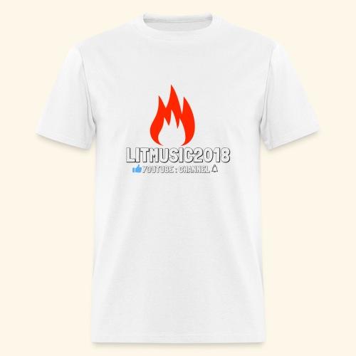 LITMUSIC2018 Youtube:Channel - Men's T-Shirt