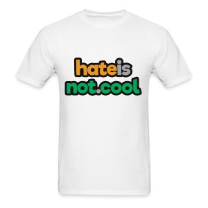 hateisnot cool - Men's T-Shirt