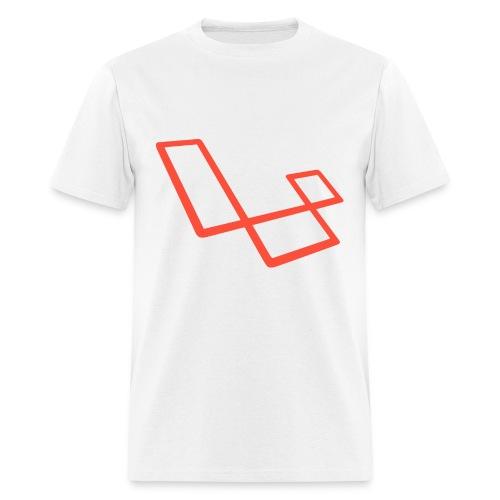 laravel l slant - Men's T-Shirt