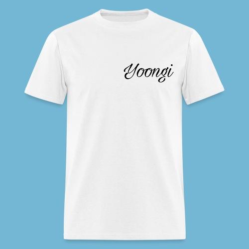 Yoongi T-Shirt - Men's T-Shirt