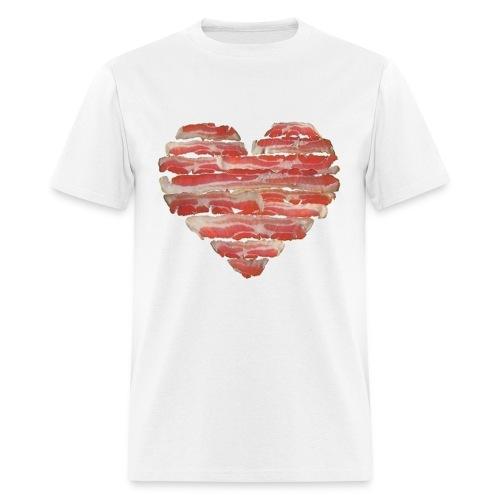 BACON = LOVE - Men's T-Shirt