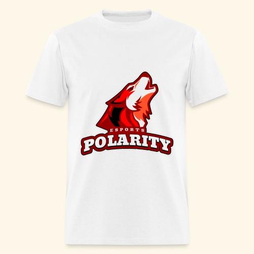 Red Polarity Logo - Men's T-Shirt