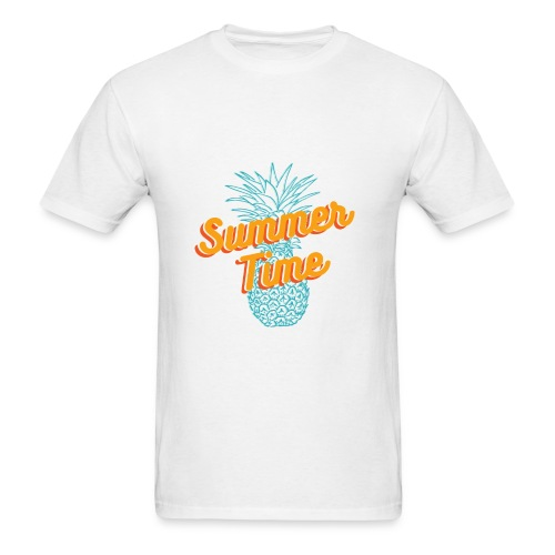Summer time Pineapple T-shirt - Men's T-Shirt