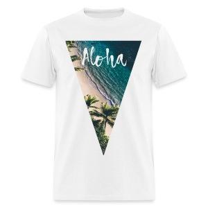 Aloha Pyramid - Men's T-Shirt