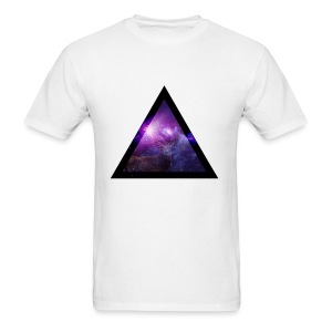 Galaxy with Deer - Men's T-Shirt