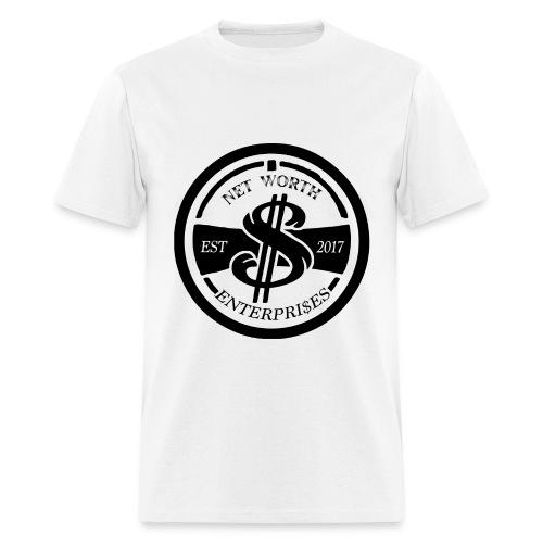 Net Worth Emblem - Men's T-Shirt