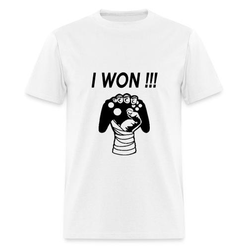 I WON - Men's T-Shirt