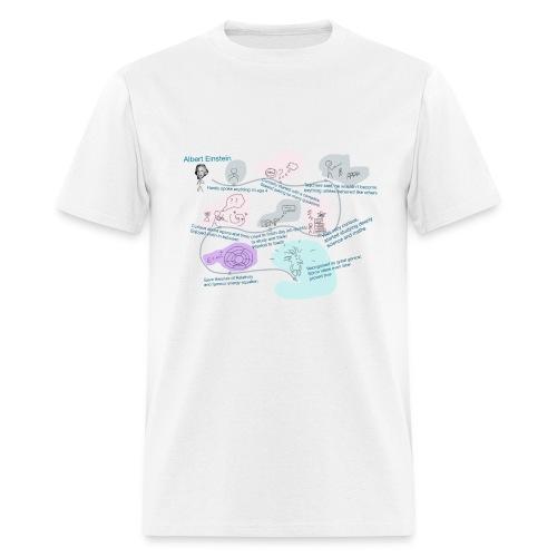 Awesome Einstein - Men's T-Shirt