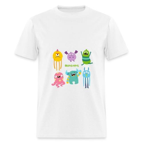 The monsters full colour - Men's T-Shirt