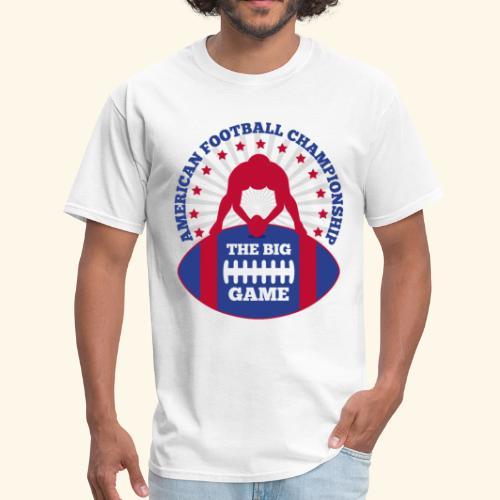 The Big Game American Football Championship - Men's T-Shirt